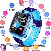 Q12B wodoodporna inteligentny zegarek dla dzieci SOS Antil-lost Smartwatch dla dzieci 2G karty SIM zegar otrzymać telefon zwrotny od monitor lokalizacji inteligentny zegarek PK Q50 Q90 Q5 tanie tanio Kuulee Android Wear Android OS 128 MB Passometer Fitness Tracker Sleep Tracker Message Reminder Call Reminder Answer Call