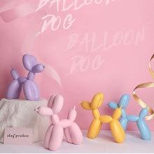 Jeff koons balloon dogs sculptures Office Home Decoration Accessories Modern Art Resin Craft