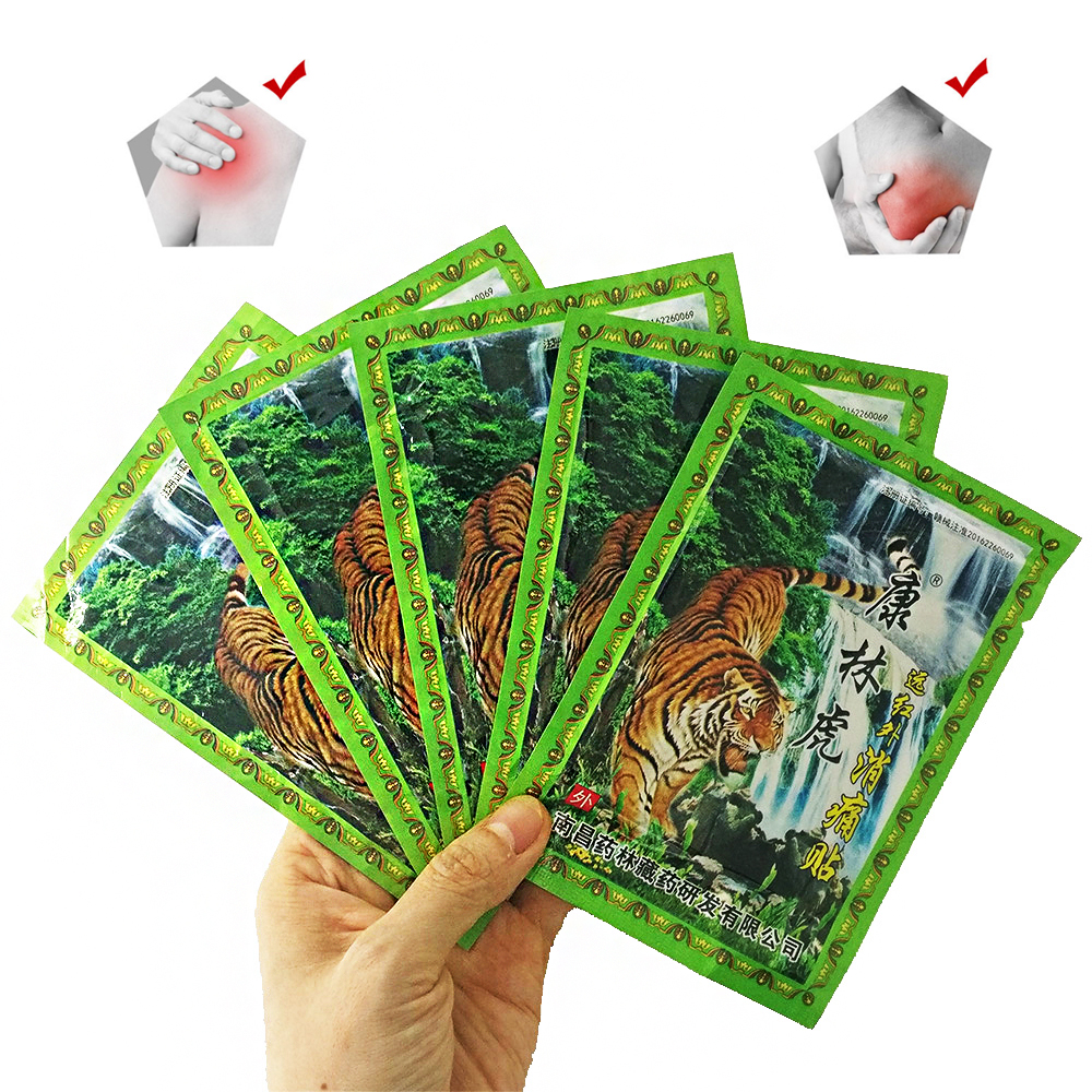 48pcs Tiger Balm Chinese Herbs Shaolin Medical Plaster kneeling at arthritis  Pain Relief Patch Curative Plaster Z08159
