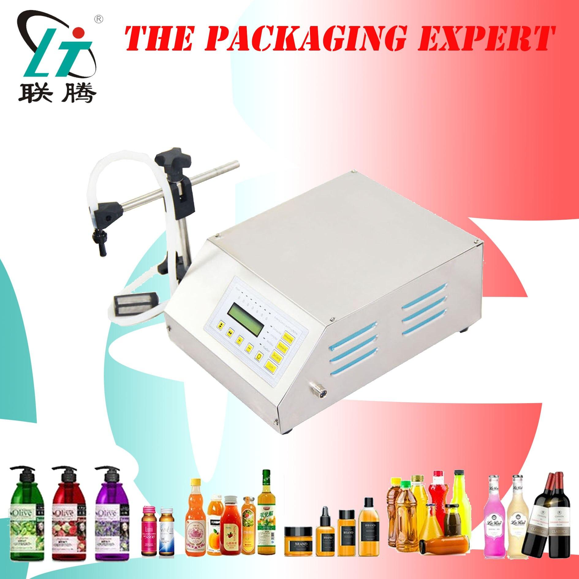 Electric Filler Digital Filling Machine Liquid Water Drink Oil Milk Beer Liquor Perfume Vinegar Soy Sauce Fill Free Shipping