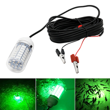 12В рыболокатор, рыболовный светильник, подводный светильник, приманка, лампа-приманка, 108 шт., светодиодный IP68, рыболовный светильник, лодка, ...