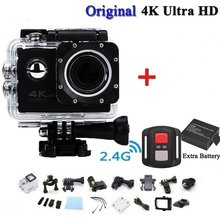 Pro Cam Sport Action Con Telecomando Camera 4k Videocamera Wifi Ultra Hd 16mp DVR Sports Outdoor Div