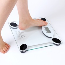 Manufacturers selling health scale 28cm transparent weight 2008C li pin cheng wai mao Square Electronic custom
