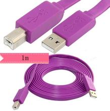 LBSC 3FT  Flat Type USB 2.0 A Male to B Male Printer Cable