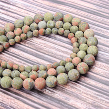 Hot?Sale?Natural?Stone?Frosted Green15.5?Pick?Size?4/6/8/10/12mm?fit?Diy?Charms?Beads?Jewelry?Making?Accessories