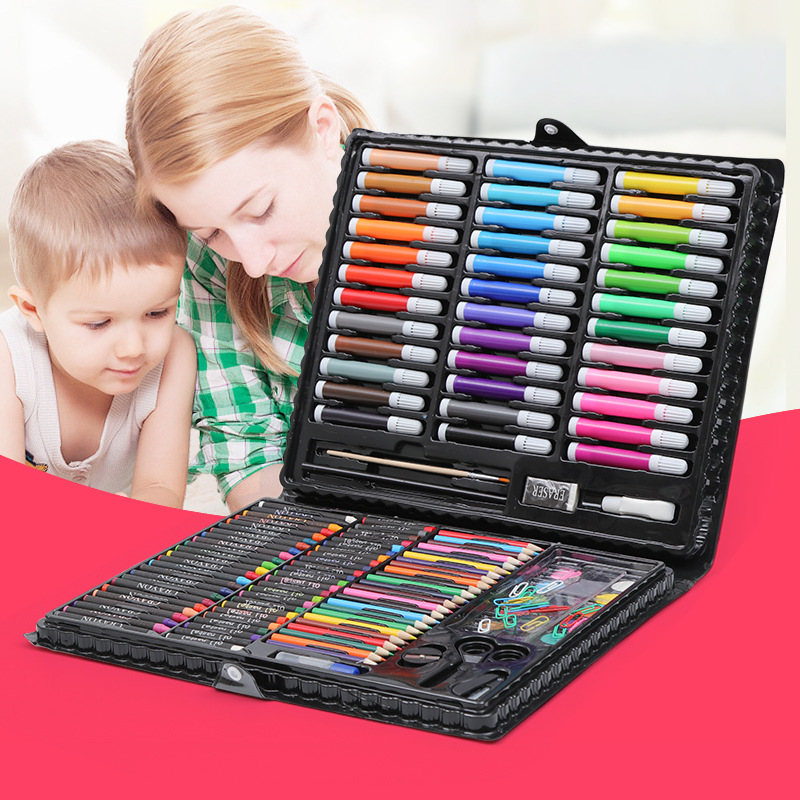 150 Sets of Stationery Set Watercolor Pen Set Children Stationery Set Primary School Kindergarten Gift  Set School Supplies