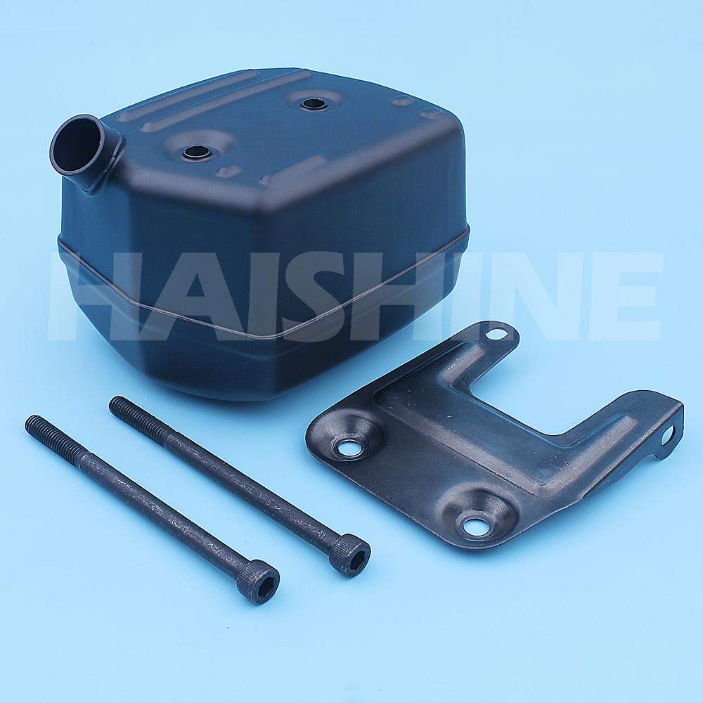 Tools : Exhaust Muffler Bracket Bolt Kit For Husqvarna 181 288 281 288XP 181XP 281XP Chainsaw Silencer Support 503591501