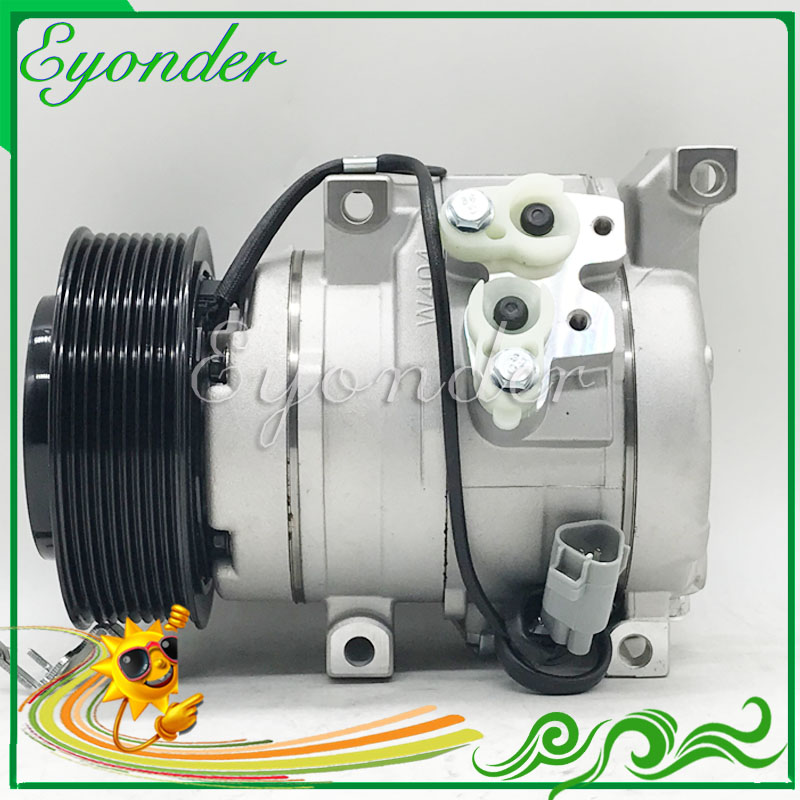 Aircon Air Conditioner AC A/C Compressor Cooling Pump 10S15C PV9 for Toyota LANDCRUISER LC70 VDJ 76R 78R 79R V8 4.5L 2473005470|a/c compressor|ac conditioner|compressor air conditioner - title=