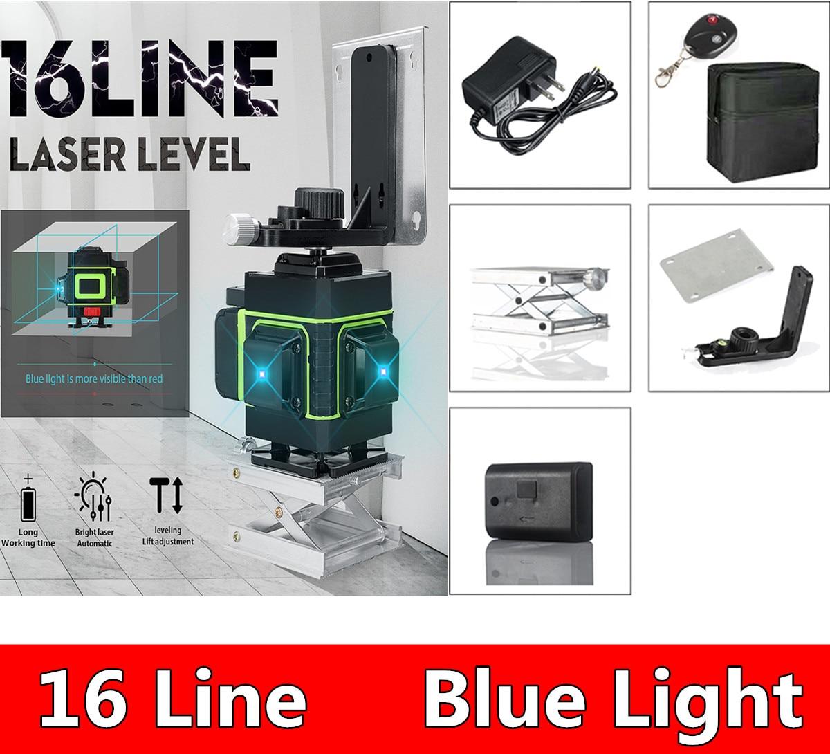 Портативный 16-линия 3D лазер формата Blue-Ray уровень Водонепроницаемый самостоятельно от производителя onlywheel в Китае (стандарты 360 градусов гор...