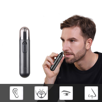 Nose Hair Trimmer Men Shaver Electric Hair Removal Eyebrow Trimmer Safe Nose Ear Hair Clipper Razor Epilator Women Personal Care mini electric eyebrow trimmer ear eyebrow trimmer for women personal electric face care portable shaver razor epilator