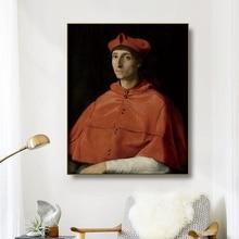 Canvas Oil Painting《Cardinal portrait…