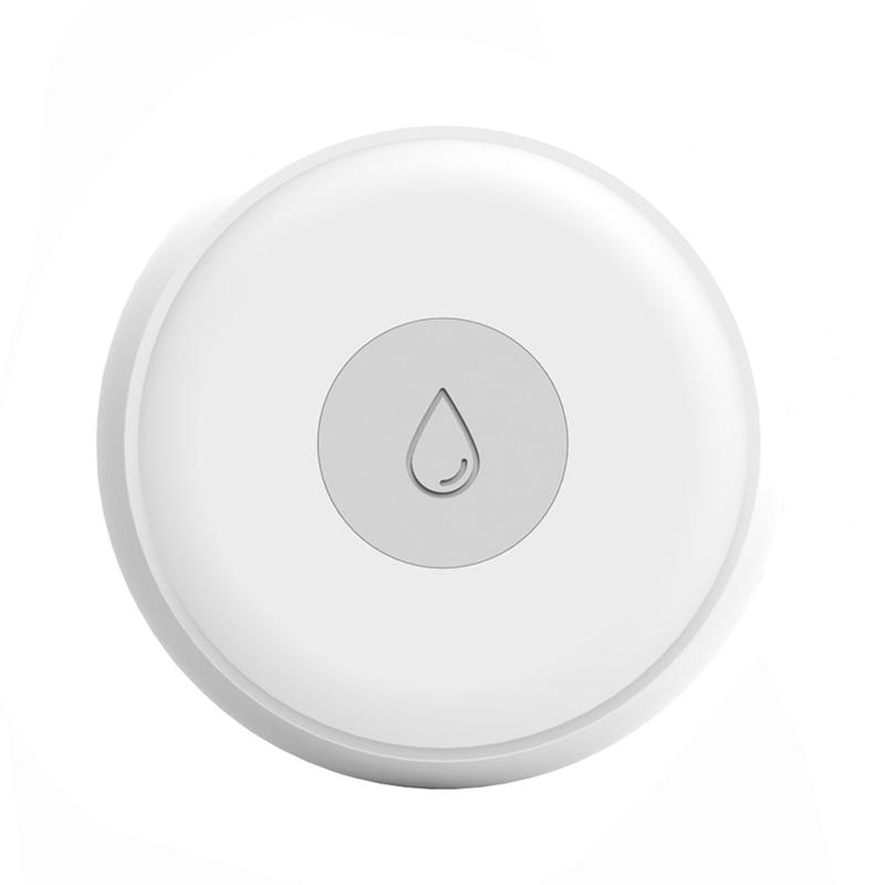 ZigBee Flood Leakage Sensor Water Leak Detector Water Tank Full Water Linkage Alarm Tuya APP Building Automation Monitoring