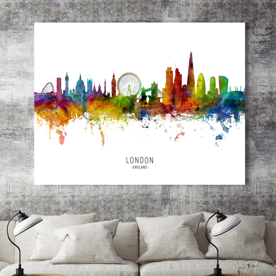 Moscow Madrid Ottawa Paris Tokyo Rome City Map Nordic Posters And Prints Wall Art Canvas Painting Wall Pictures For Living Room