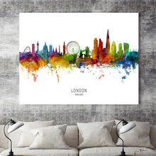 Moscow Madrid Ottawa Paris Tokyo Rome City Map Nordic Posters And Prints Wall Art Canvas Painting Wall Pictures For Living Room цена
