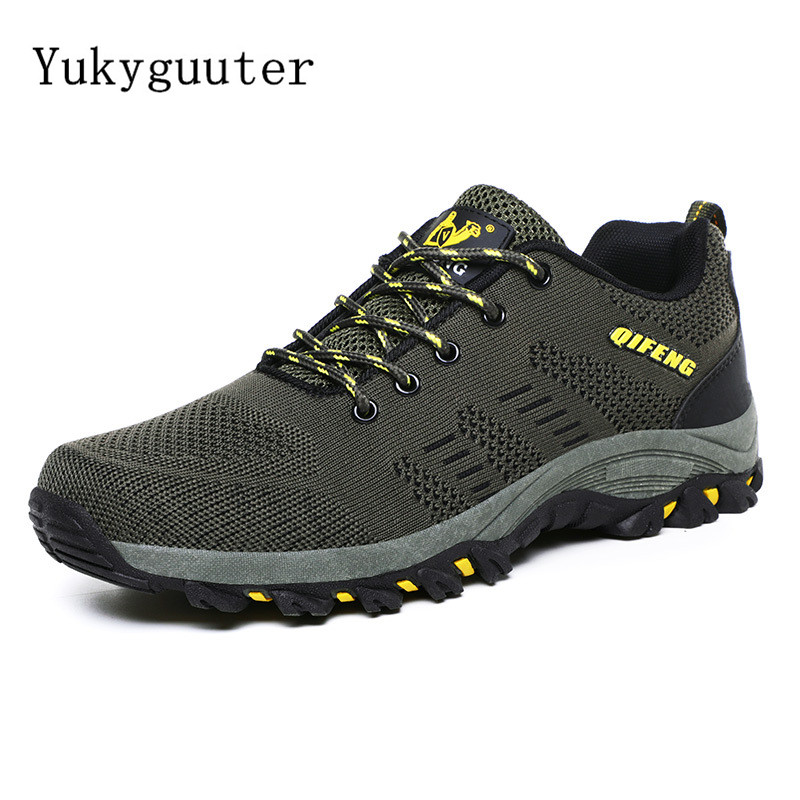 Hiking-Shoes Sport-Sneakers Mountain-Climbing Outdoor Jogging Walking Women Breathable title=