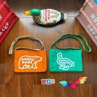 Mochilas de oso y pato hechas a mano para hombres y mujeres, bolsos de lona Vintage de alta calidad, de retales de Color, hechos a mano, 2021