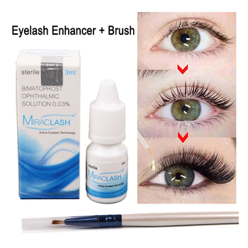 Eyelash Growth Eye Serum Eyelash Enhancer Longer Fuller Thicker Lashes Serum Eyelashes Lifting and Eyebrows Enhancer недорого