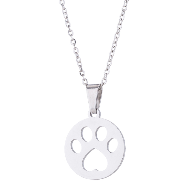 Dog Pendant Necklace Set 4