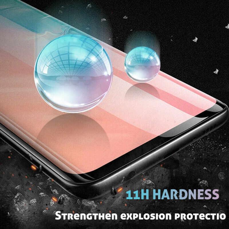 3 個三星銀河 S8 S9 S10 プラス Lite 強化サムスン注 8 9 10 プラス S7 S105G ガラスフィルム