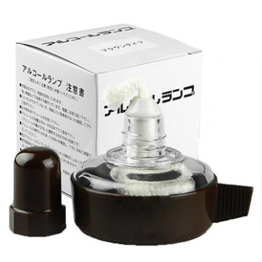 1 Pcs Glass Alcohol Lamp Laboratory Heating Equipment
