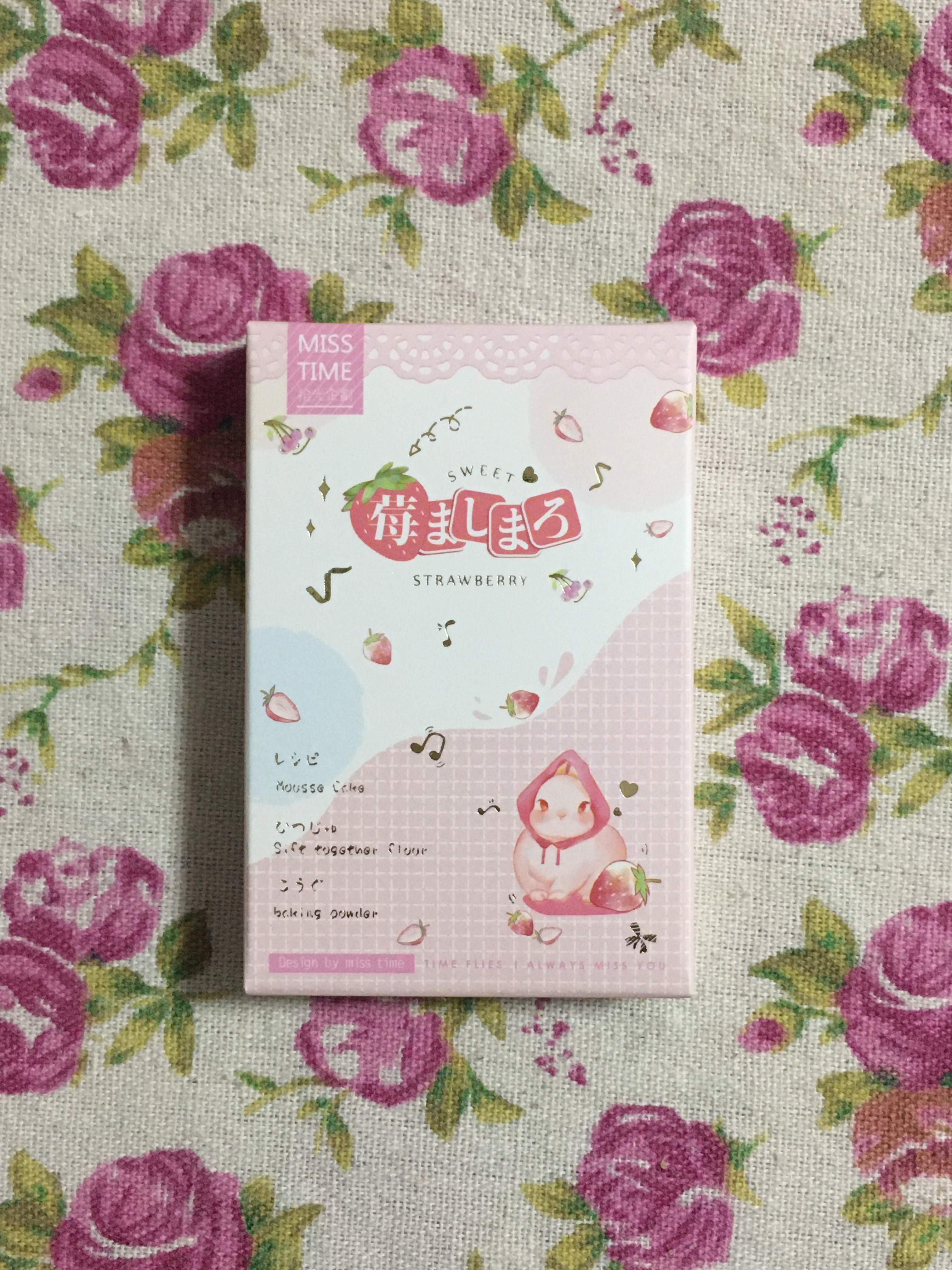 L168- Strawberry Food Paper Greeting Card Lomo Card(1pack=28pieces)