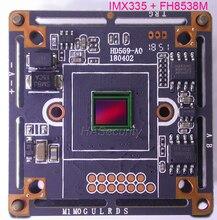 AHD 5MP 4MP 1/2. 8 STARVIS IMX335 CMOS חיישן תמונה + FH8538 CCTV מצלמה מודול PCB לוח (חלקים אופציונליים)