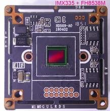 AHD 5MP 4MP 1/2. 8 STARVIS IMX335 CMOS دارة بصرية متكاملة لاستشعار الصورة + FH8538 كاميرا تلفزيونات الدوائر المغلقة وحدة لوحة دارات مطبوعة (أجزاء اختيارية)