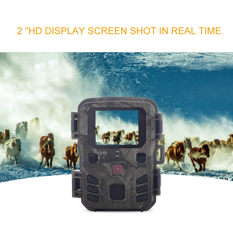 display lcd 12mp 1080 p hd trail camera caca jogo ao ar livre wildlife scouting trilha