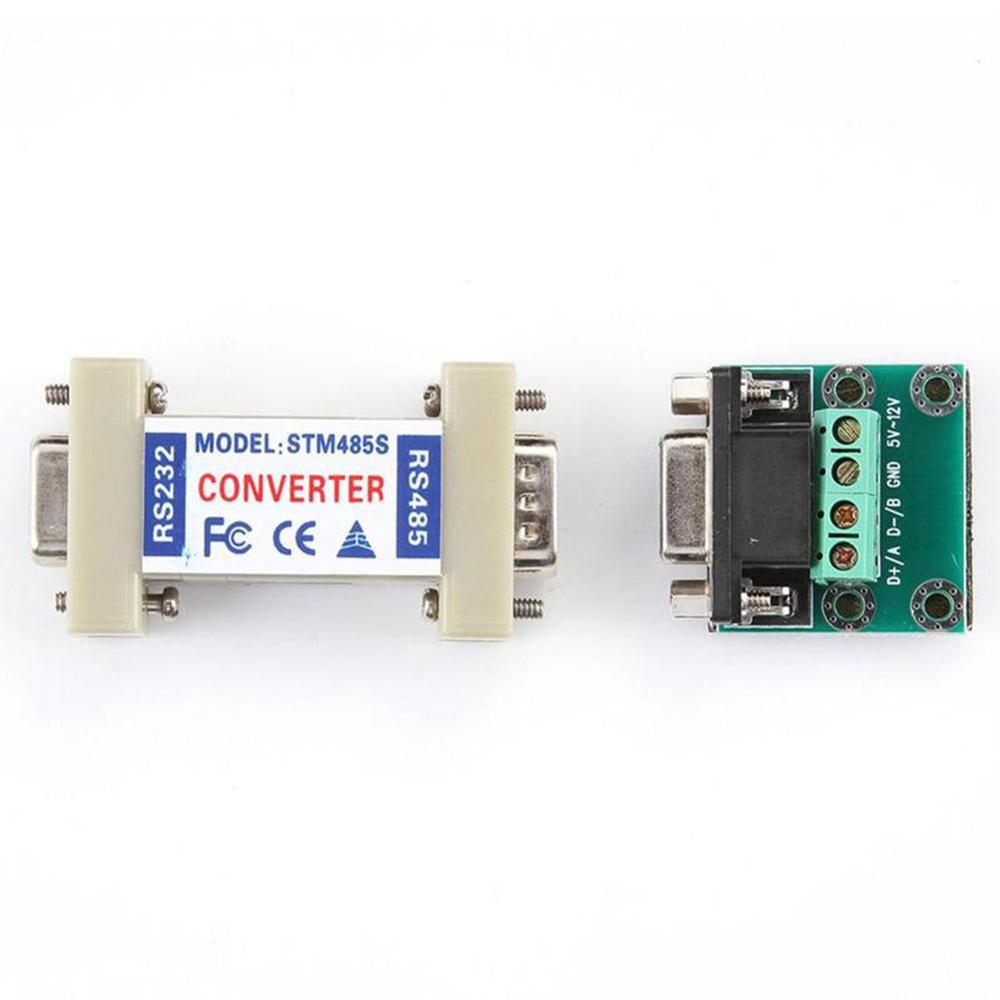 RS232 To RS485 Transverter Serial Communication Data Converter Small Adapter
