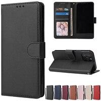 Custodia protettiva in pelle per iPhone 12 11 Pro Max 12 Mini X XR XS Max 7 8 6 6s Plus 5 5s SE 2020 Stand Coque Flip Wallet Funda
