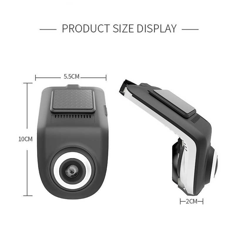Hd completo 1080 p min carro dvr câmera u3 adas gravador de vídeo digital automático traço cam para android multimídia player g-sensor carro dvrs