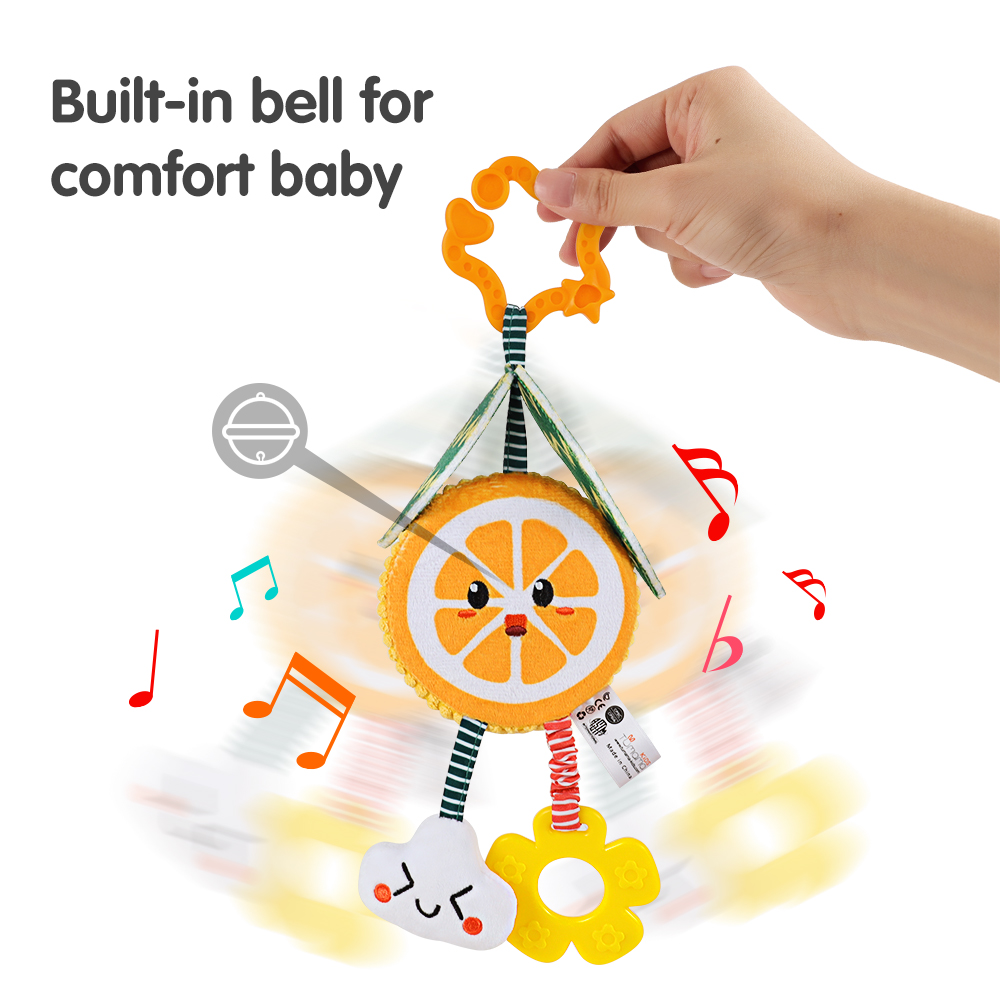 Baby Toys Crib Hanging Rattles Christmas Bebe 0-12-Months for Brinquedo Bebe/Christmas/Birthday-gift/Stroller