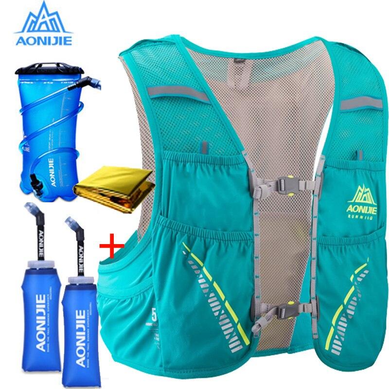 AONIJIE C933 plecak z systemem hydracyjnym plecak kamizelka uprząż pęcherz wodny piesze wycieczki Camping bieganie maraton wspinaczka 5L w Torby do biegania od Sport i rozrywka na AliExpress - 11.11_Double 11Singles' Day 1