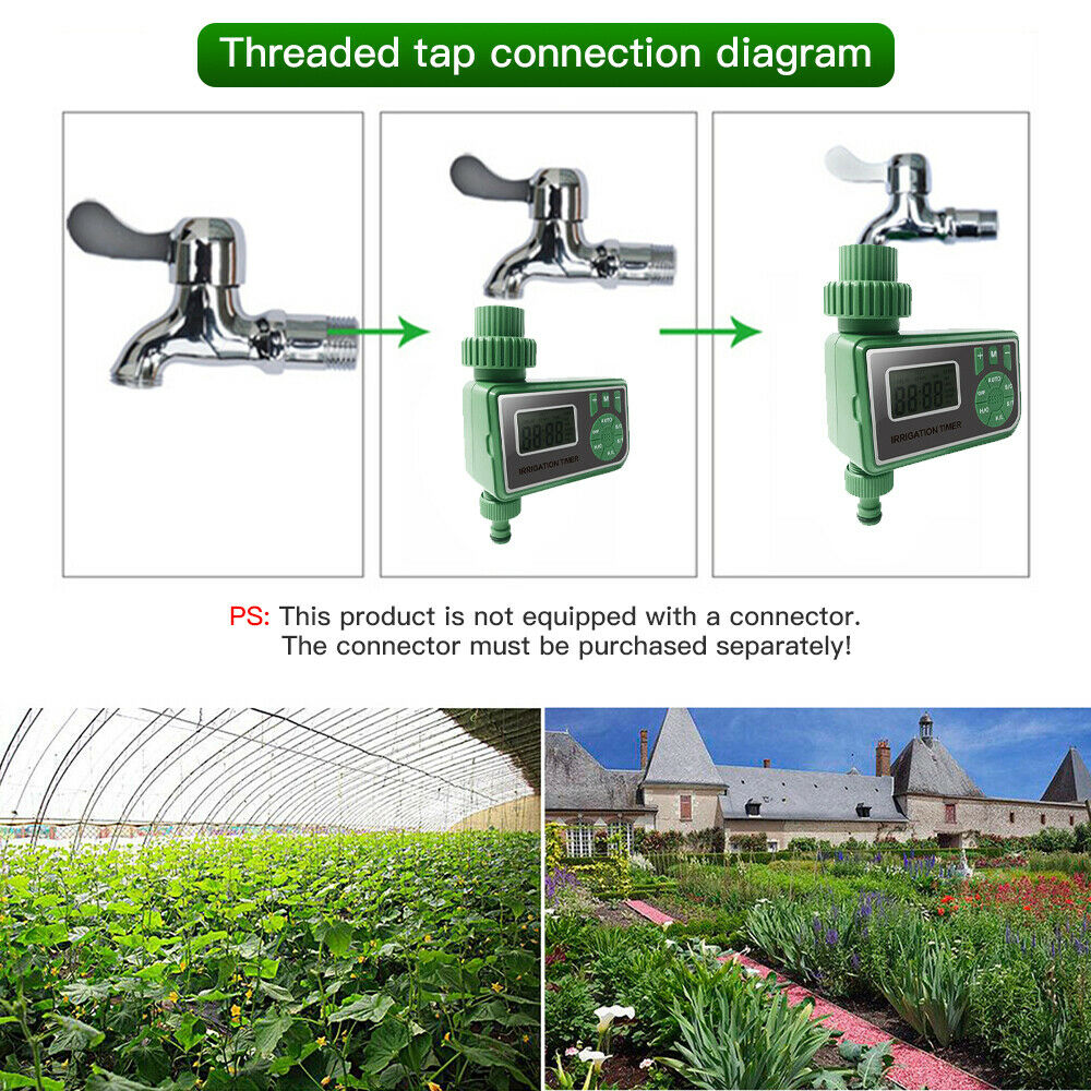 25M DIY Drip Irrigation System Automatic Watering Irrigation System Kit Garden Hose Micro Drip Watering Kits Adjustable dripper 3