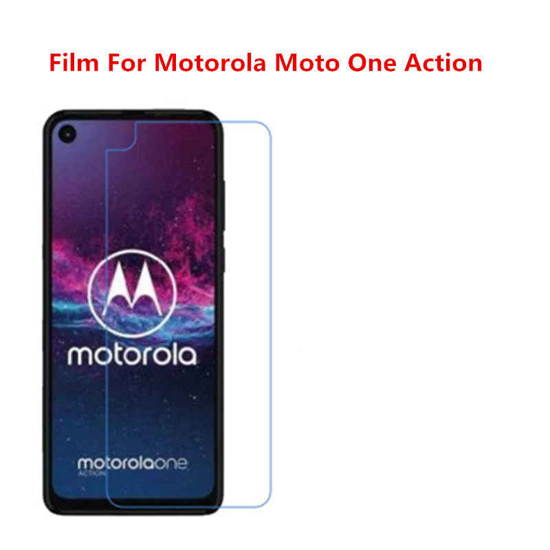 1/2/5/10 Pcs Ultra Thin Clear HD LCD Screen Protector Film With Cleaning Cloth Film For Motorola Moto One Action.