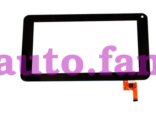 For 7-inch Flat Screen TOPSUN-C0116-A1 Touch Screen