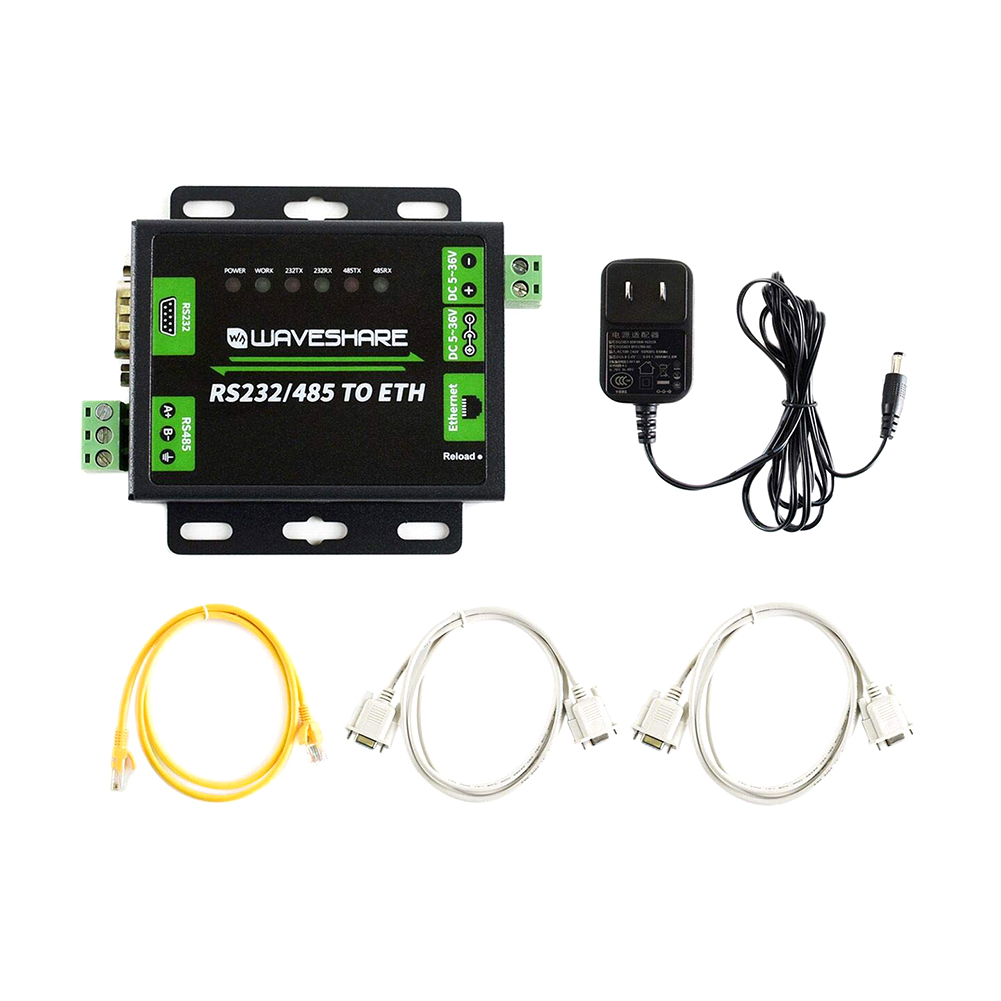Industrial Module Webpage DNS Computer Accessories UDP RJ45 TCP Name Resolution Networking Converter RS232 485 TO ETH