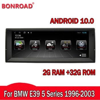 Автомобильный DVD плеер Bonroad, мультимедийный проигрыватель для BMW e39 X5 E53 с GPS навигацией|Мультимедиаплеер для авто|   | АлиЭкспресс