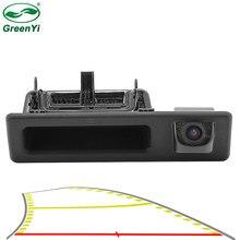 Trajetória dinâmica do veículo linha de estacionamento tronco do carro lidar com câmera visão traseira para bmw x1 x3 x4 x5 f30 f31 f34 f07 f10 f11 f25 e84