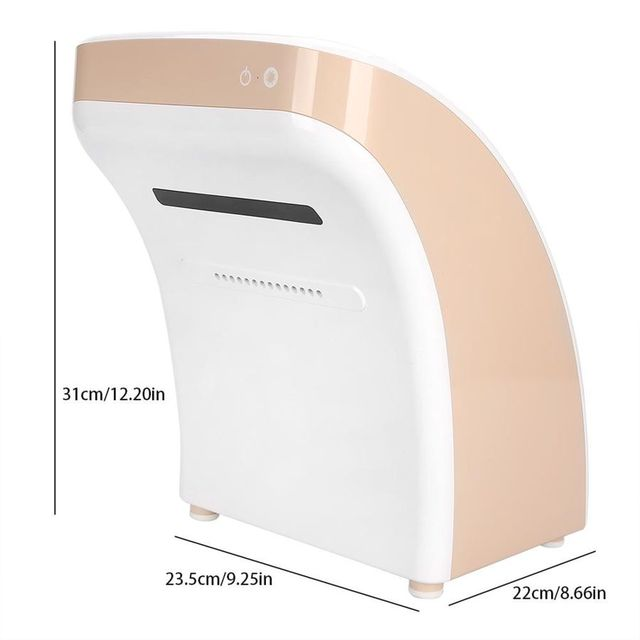 Electric Hand Dryer 850W Positive and Negative Ion High Rate Electric Hand Dryer with Hot and