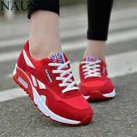 NAUSK baskets femmes nouvelles chaussures de printemps décontractées respirantes Basket appartements Femme plate-forme chaussures Femme baskets chaussures Chaussure Femme