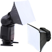 Gosear 유니버설 사진 Difusor 플래시 라이트 기관총 소프트 박스 소프트 박스 권투 캐논 니콘 소니 시그마 Pentax Vivitar 카메라