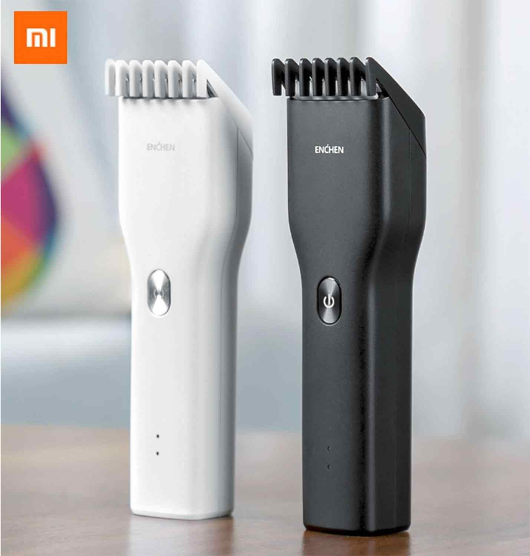 شاومي MJ ENCHEN Boost USB الكهربائية الشعر المقص شحن سريع الشعر المتقلب الأطفال الشعر المقص اثنين سرعة السيراميك القاطع الشعر