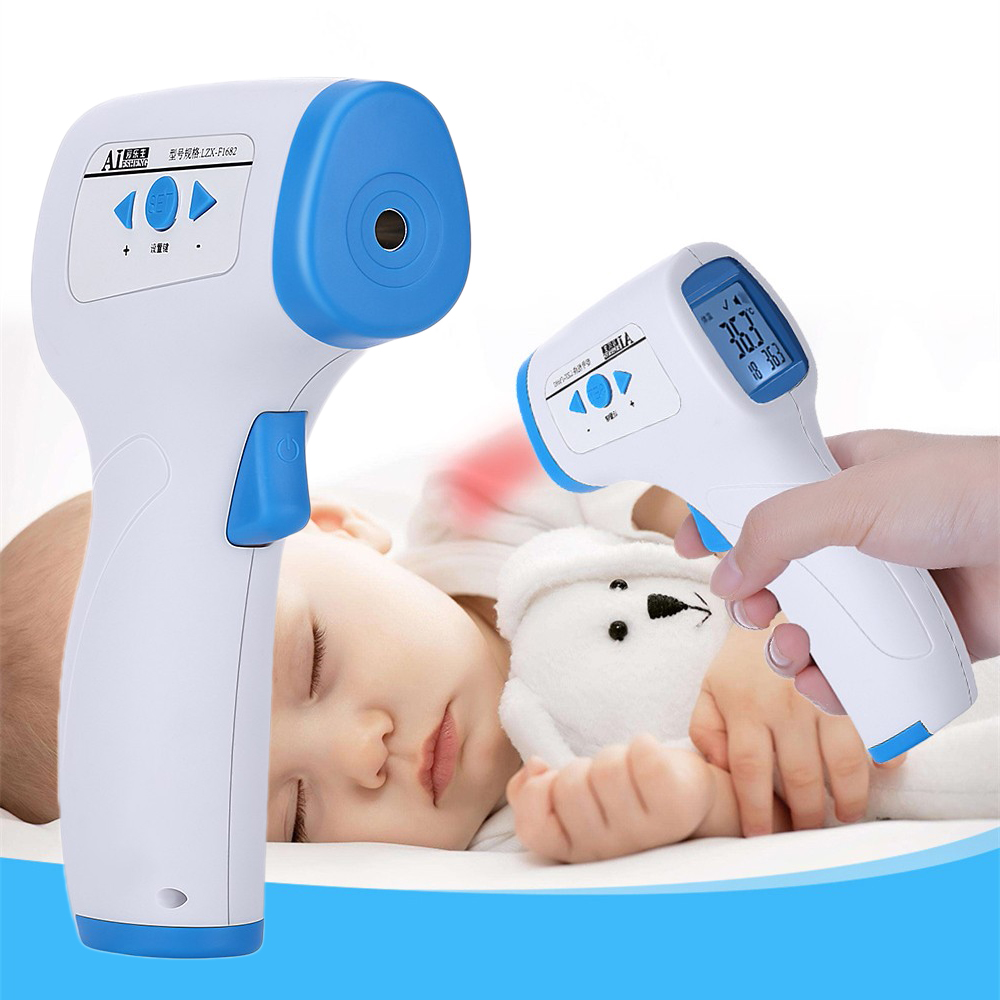 Baby Infrared Thermometer Digital LCD Body Measurement Forehead Adult Non-Contact Fever IR Temperature Measurement Termometro
