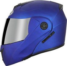 Casco de moto de cara completa abatible hacia arriba doble visera... abatible hacia arriba para hombre y mujer... capacete de