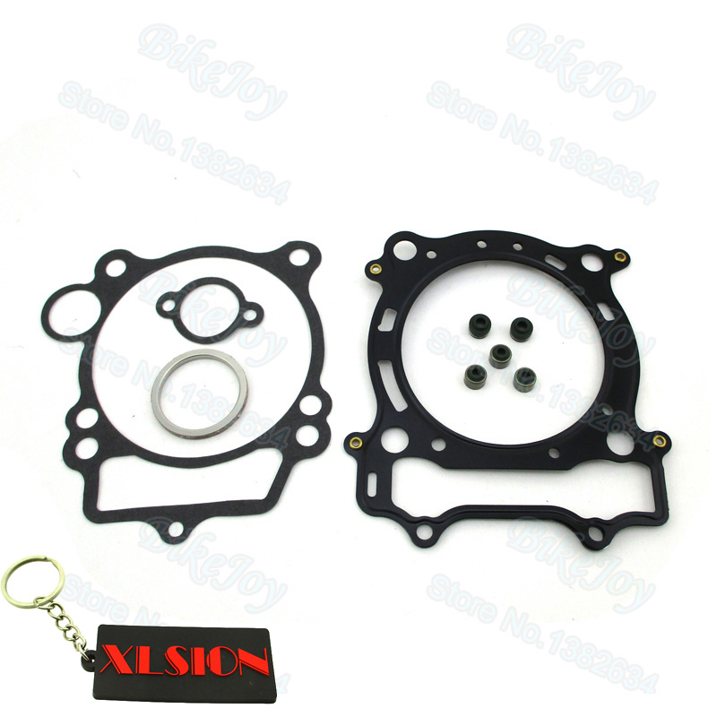 Top End Engine Head Gasket Kit For YAMAHA YFZ 450 2004–2009 2012-2013 ATV Quad