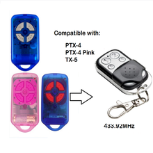 4 Button Garage Gate Door Replacement Remote Control Transmitter for PTX4 433.92 MHz(China)