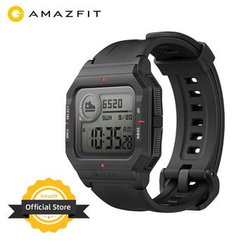In Stock 2020 Amazfit Neo Smart Watch Bluetooth Smartwatch 5ATM Heart Rate Tracking 28Days Battery Life For Android IOS Phone