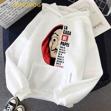 Fashion money heist hoodies women/men funny graphic la casa