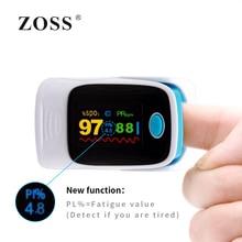 ZOSS Finger Pulse Oximeter De Pulso De Dedo SpO2 Saturation Meter Pulse Oximeter CE Approved OLED Display  Ossimetro Pulsosime pulse oximeter cms50dl black ce fda